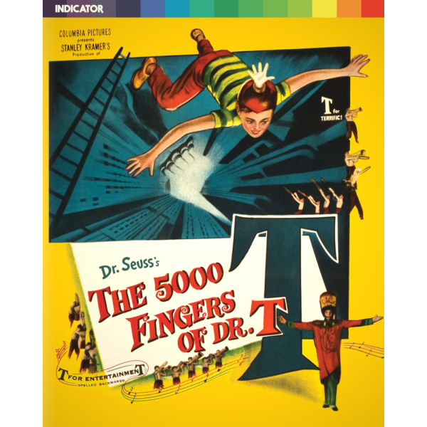 5000 Fingers Of Dr T - Limited Edition Blu-Ray + DVD