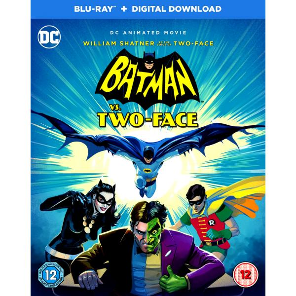 DC Batman vs Two Face Blu-Ray