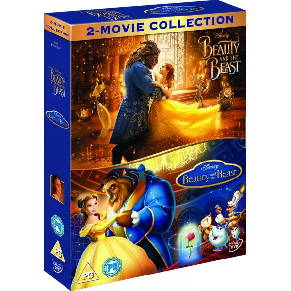 Beauty And The Beast (Live Action) / Beauty And The Beast (Animated) DVD