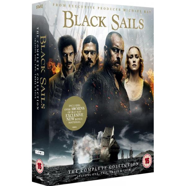 Black Sails Seasons 1 to 4 Complete Collection DVD