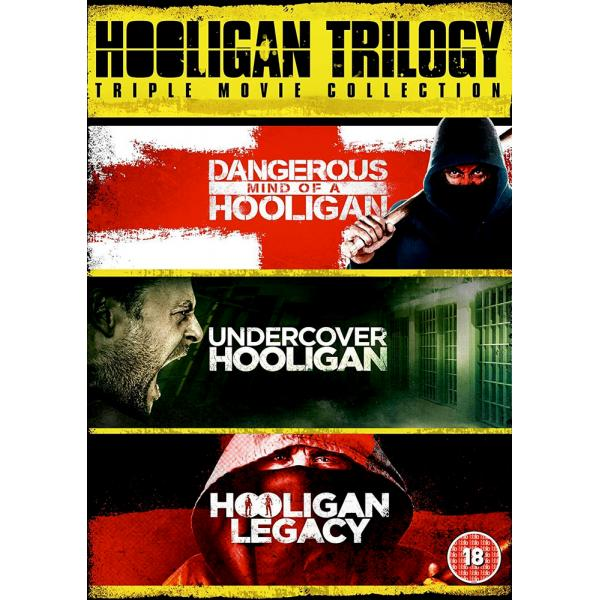 Dangerous Mind Of A Hooligan / Hooligan Legacy / Undercover Hooligan DVD