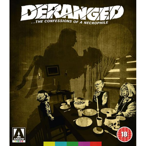 Deranged - The Confessions Of A Necrophile Blu-Ray