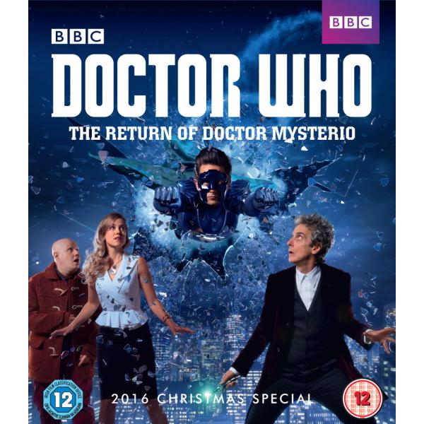 Doctor Who - The Return Of Doctor Mysterio Blu-Ray