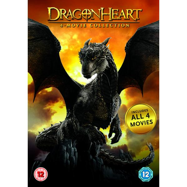 Dragonheart / Dragonheart - A New Beginning / Dragonheart 3 - The Sorcerers Curse / Dragonheart 4 Mo DVD