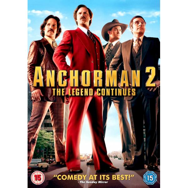 Anchorman 2 - The Legend Continues DVD
