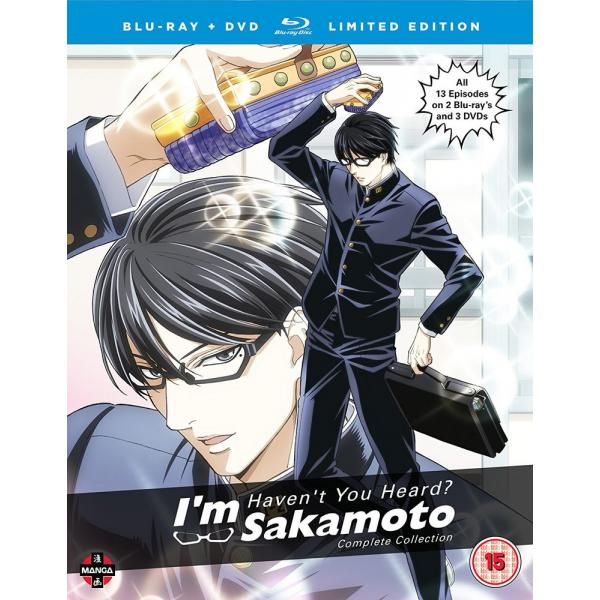 Havent You Heard Im Sakamoto Complete Season 1 Collection - Collectors Edition Blu-Ray + DVD