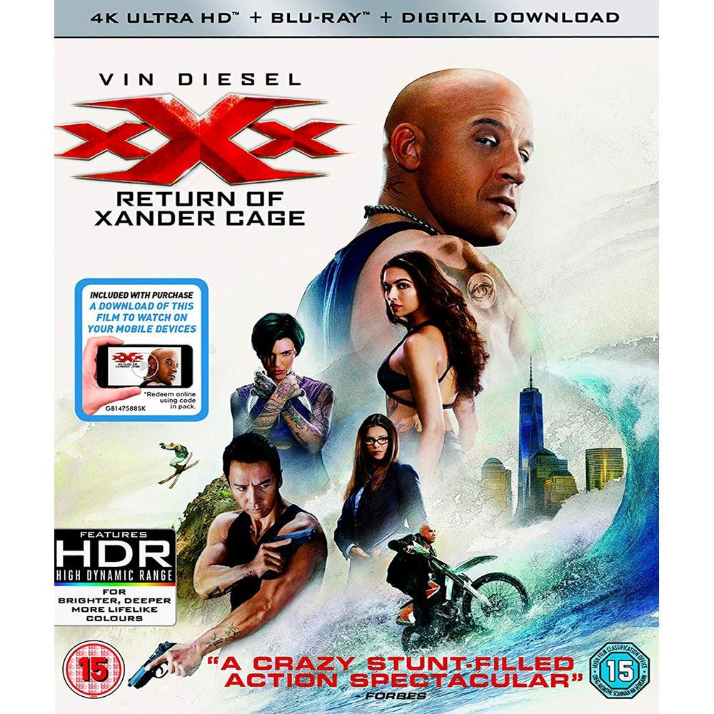 XXx - The Return Of Xander Cage 4K Ultra HD