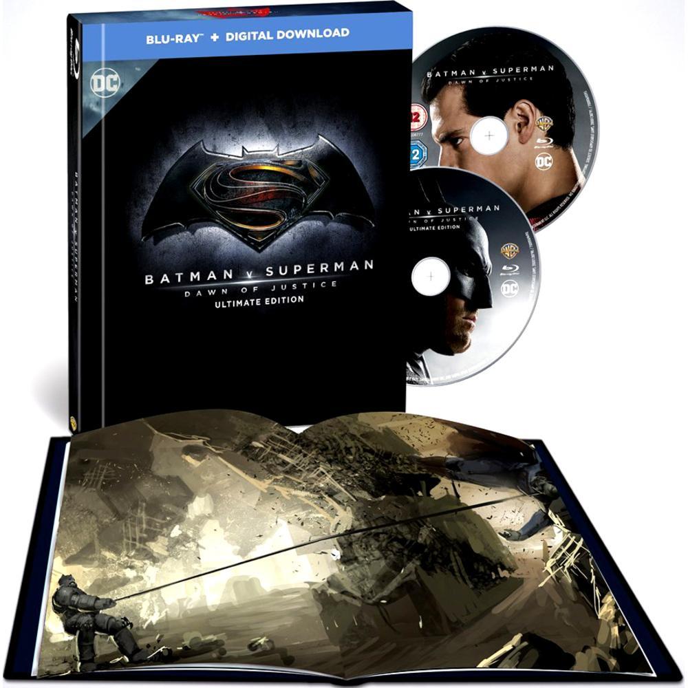 Batman Vs Superman Ultimate Edition Blu Ray