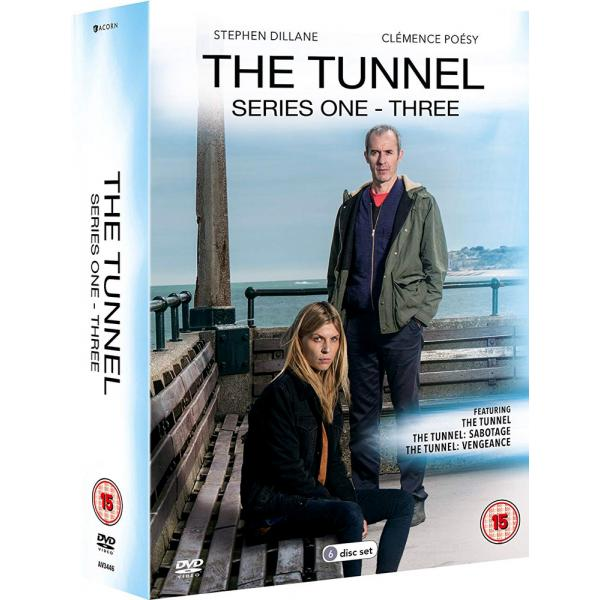 The Tunnel Series 1 to 3 Complete Collection DVD