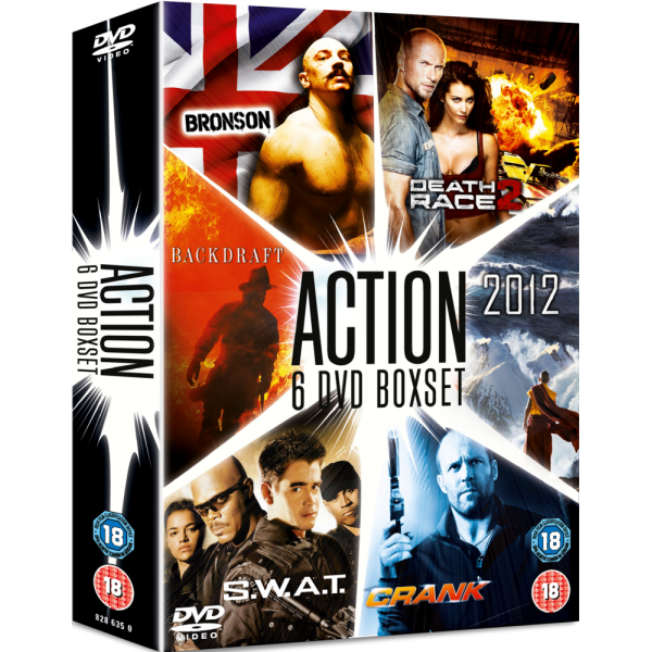 2012 / Backdraft / Bronson / Crank / Death Race 2 / S W A T DVD