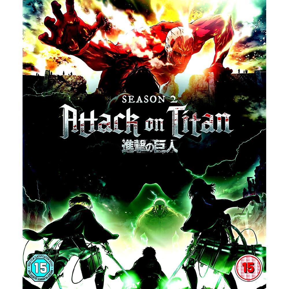 Attack On Titan Season 2 Blu-Ray | Deff.com