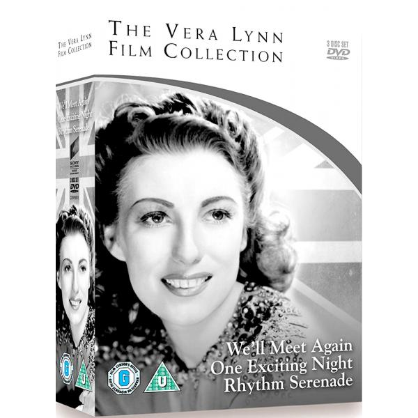 Vera Lynn - Well Meet Again / One Exciting Night / Rhythm Serenade DVD