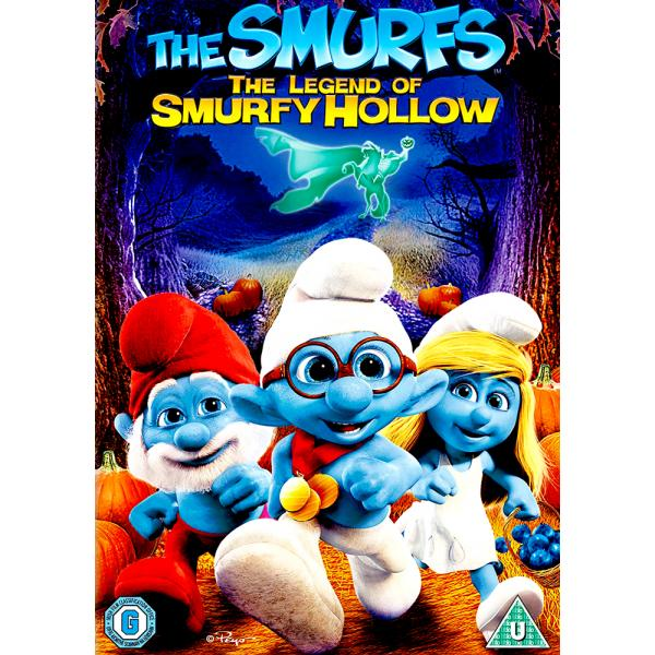The Smurfs - The Legend Of Smurfy Hollow DVD