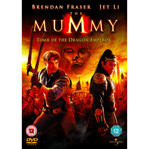 The Mummy - Tomb Of The Dragon Emperor DVD