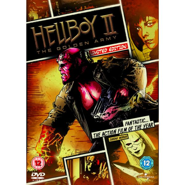 Hellboy II - The Golden Army DVD