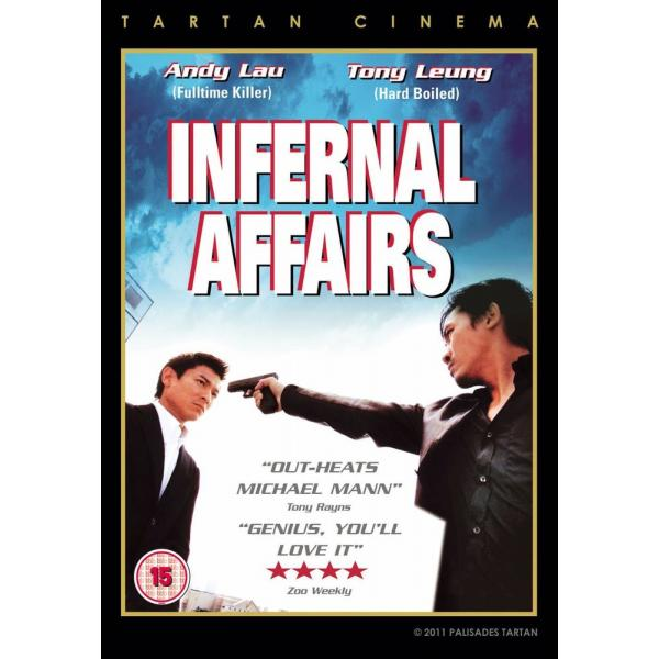 Infernal Affairs DVD