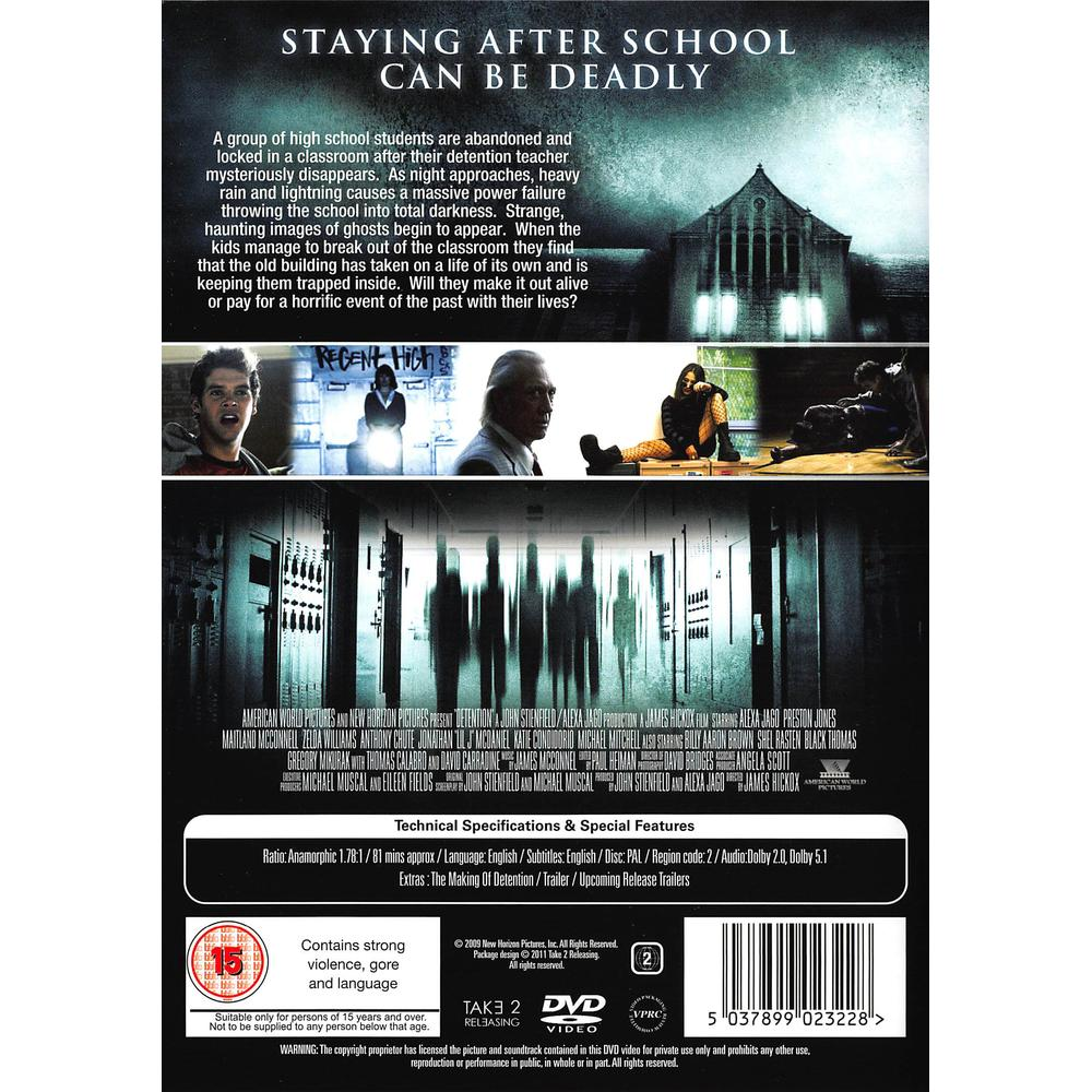 Detention DVD