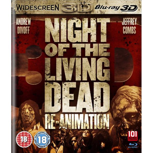 Night Of The Living Dead - Re-Animation 3D Blu-Ray