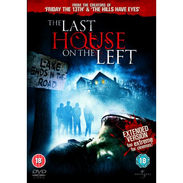 The Last House On The Left - Extended Version DVD