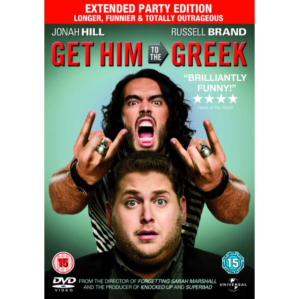 Get Him To The Greek - Extended Party Edition DVD