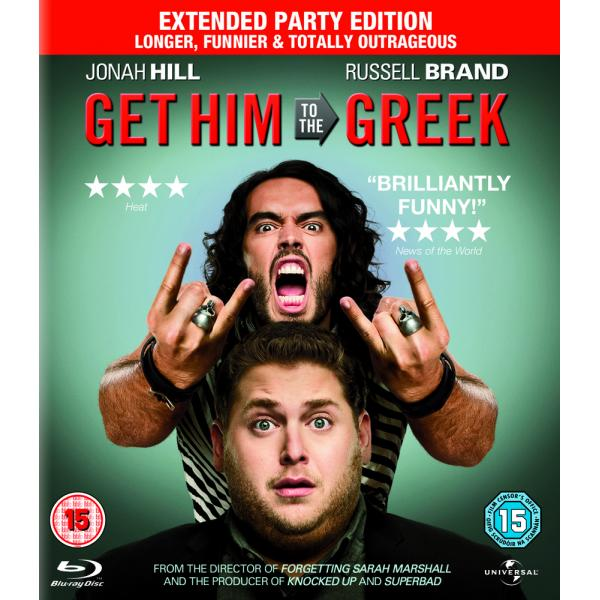 Get Him To The Greek - Extended Party Edition Blu-Ray