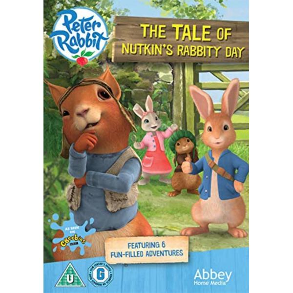 Peter Rabbit - The Tale Of Nutkin's Rabbity Day DVD