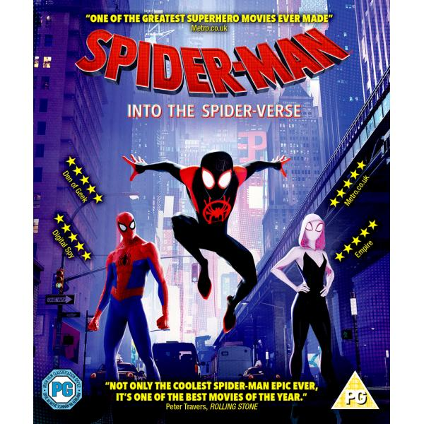 Spider-Man - Into The Spider-Verse Blu-Ray