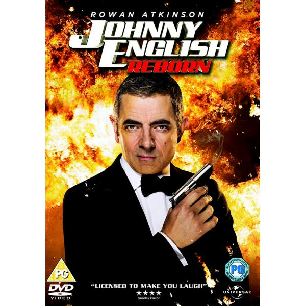 Johnny English - Reborn DVD