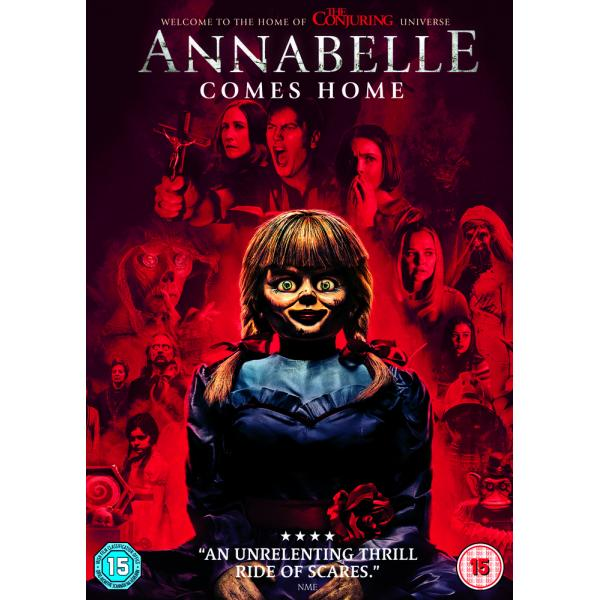 Annabelle Comes Home DVD