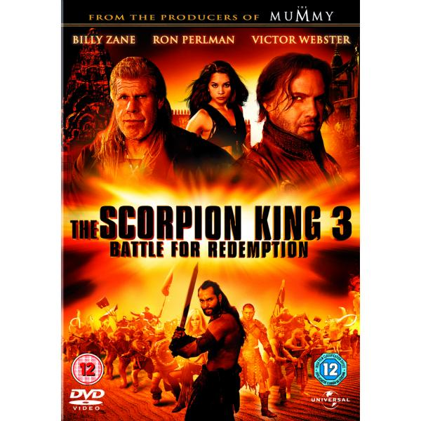 The Scorpion King 3 - Battle For Redemption DVD