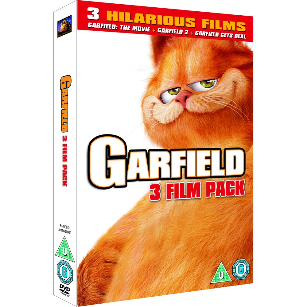 Garfield The Movie Garfield 2 Tale Of Two Kitties Garfield Gets Real Dvd Deff Com