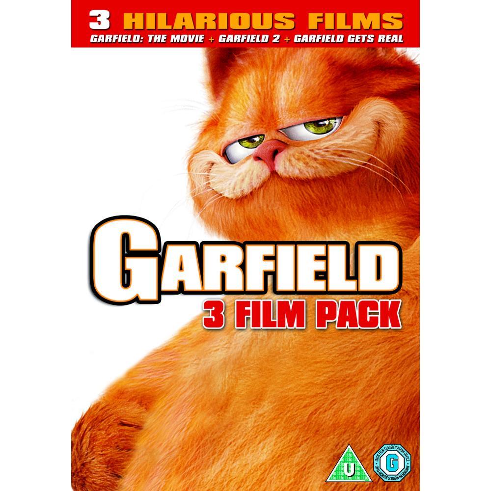 Garfield The Movie Garfield 2 Tale Of Two Kitties Garfield Gets Real Dvd Deff Com