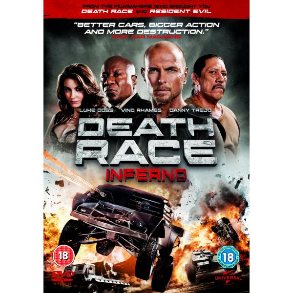 Death Race 3 - Inferno DVD