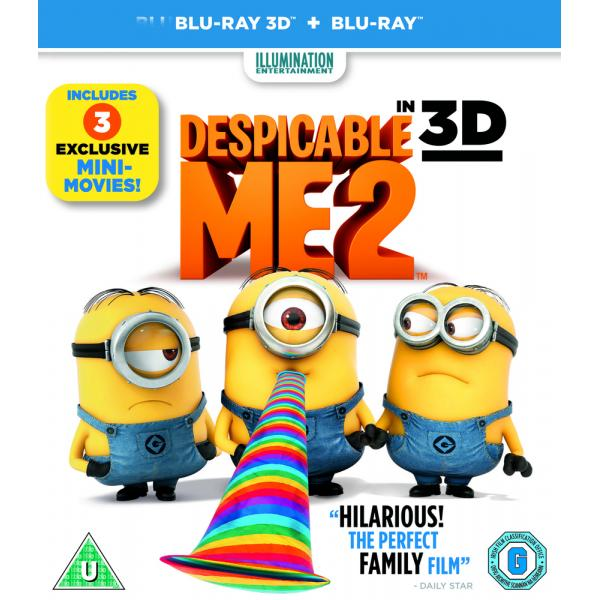 Despicable Me 2 3D+2D Blu-Ray