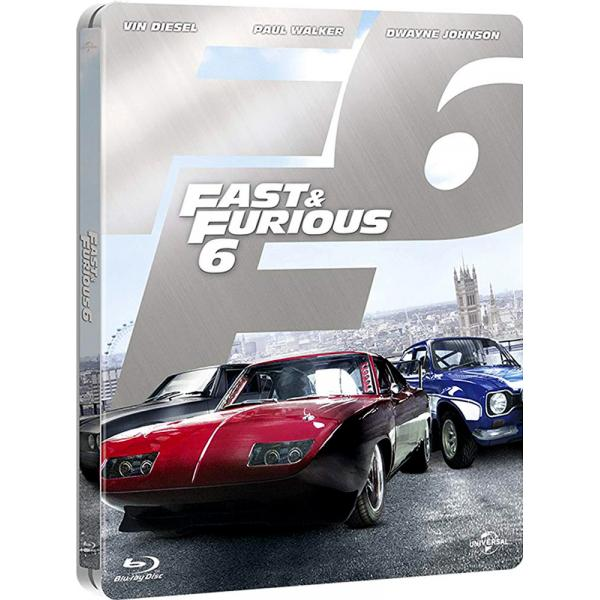Fast & Furious 6 - Fast And The Furious Steelbook Blu-Ray