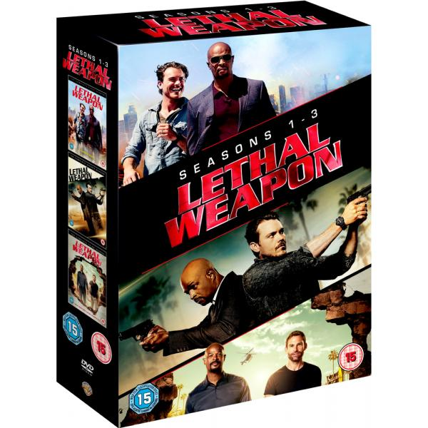 Lethal Weapon Seasons 1 to 3 Complete Collection DVD