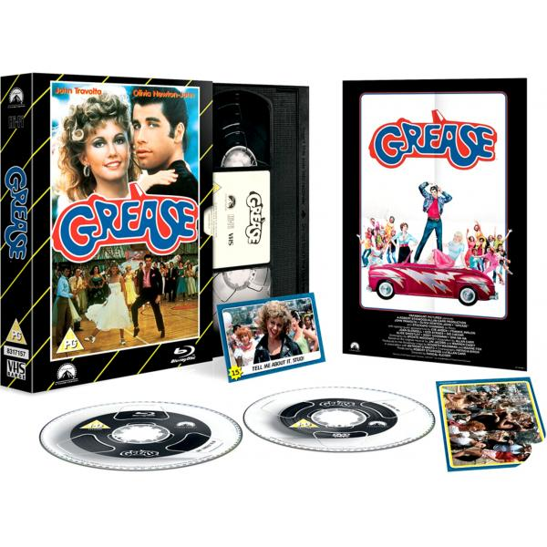Grease - Limited Edition VHS Collection DVD + Blu-Ray
