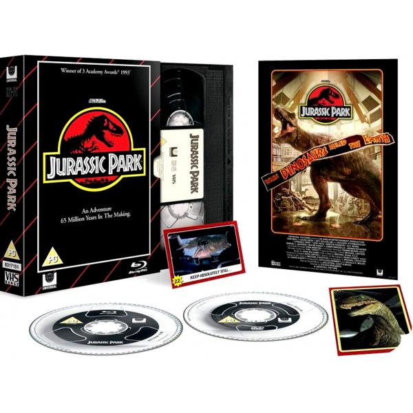 Jurassic Park - Limited Edition VHS Collection DVD + Blu-Ray