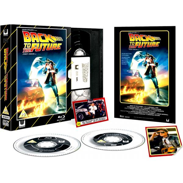 Back To The Future - Limited Edition VHS Collection DVD + Blu-Ray