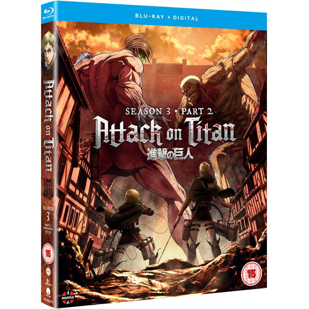 Attack on Titan Season Three Part Two Blu-Ray   Deff.com