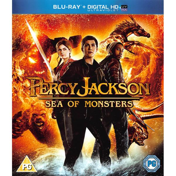 Percy Jackson - Sea Of Monsters Blu-Ray