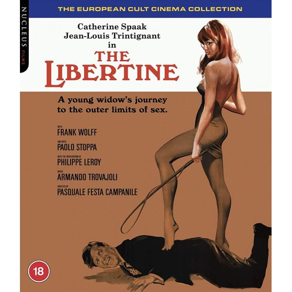 The Libertine Blu-Ray