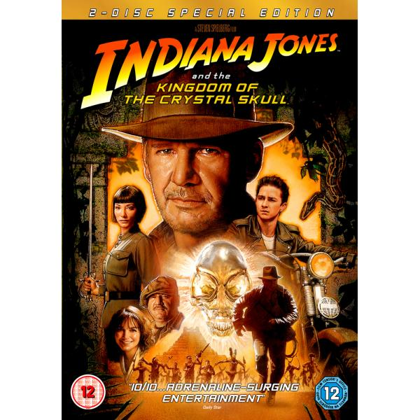 Indiana Jones - And The Kingdom Of The Crystal Skull DVD