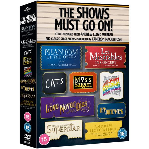 The Shows Must Go On! Ultimate Musicals Collection DVD