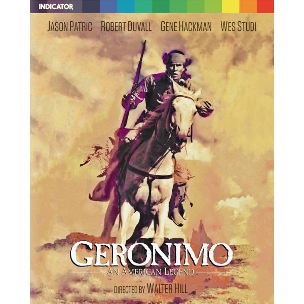 Geronimo - An American Legend Limited Edition (With Booklet) Blu-Ray