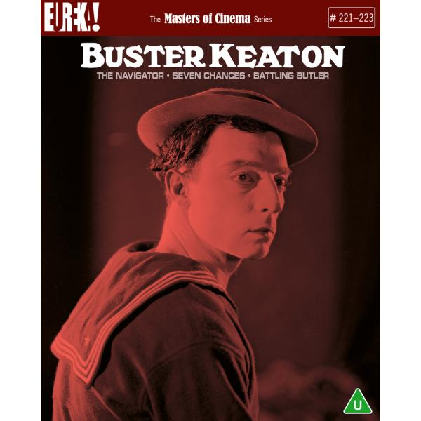 Buster Keaton - The Navigator / Seven Chances / Battling Butler (With Booklet) Blu-Ray