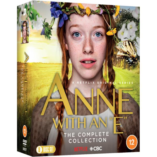 Anne With an E Series 1 to 3  - The Complete Collection DVD