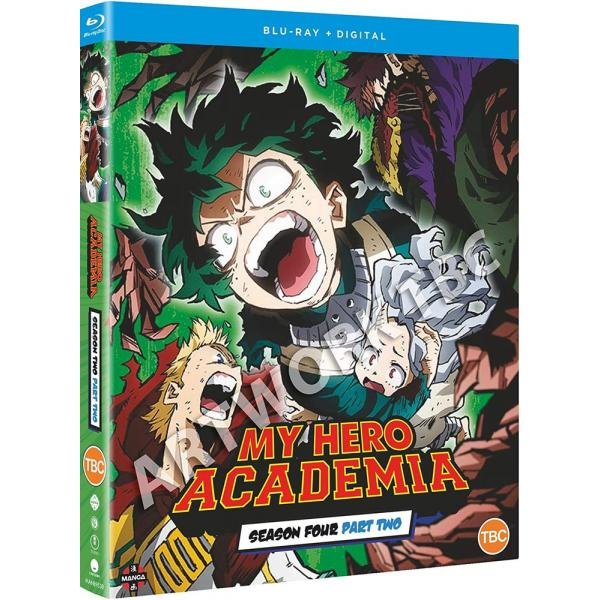 My Hero Academia Season 4 Part 2 Blu-Ray