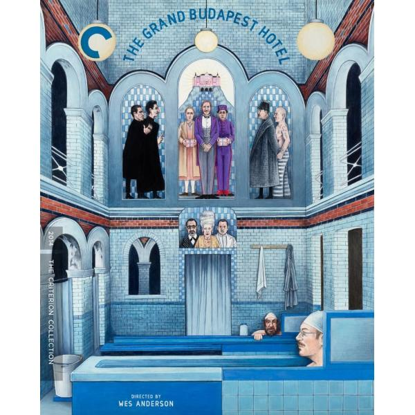 The Grand Budapest Hotel - Criterion Collection Blu-Ray