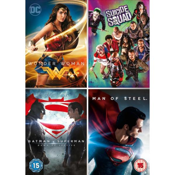 DC 4 Film Collection DVD